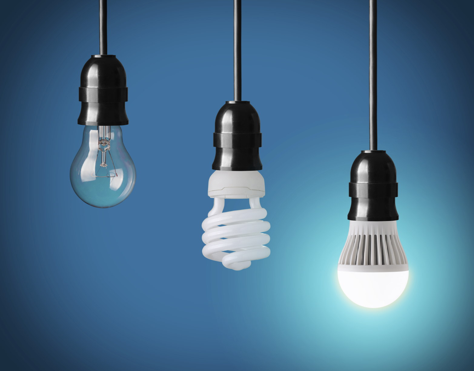 LED light bulb, energy saving